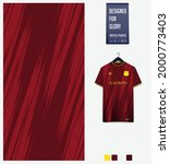 soccer jersey pattern design.... | Shutterstock .eps vector #2000773403