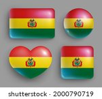 set of glossy buttons with... | Shutterstock .eps vector #2000790719