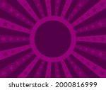 sunlight retro background with...   Shutterstock .eps vector #2000816999