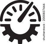 productivity  analytics ... | Shutterstock .eps vector #2000837666