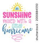 sunshine mixed with a little... | Shutterstock .eps vector #2000884550