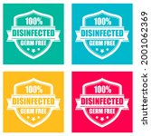 disinfected area  germ free...   Shutterstock .eps vector #2001062369