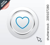 heart sign icon. love symbol....