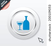 alcohol sign icon. drink symbol....