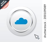 cloud sign icon. data storage...