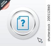 file document help icon....