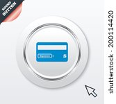credit card sign icon. debit...