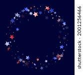 american memorial day stars... | Shutterstock .eps vector #2001256466