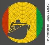 ferry boat icon on radar...