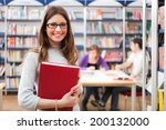 portrait of a smiling woman in... | Shutterstock . vector #200132000