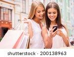Shopaholic Friends. Two...
