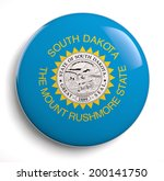 south dakota state flag... | Shutterstock . vector #200141750