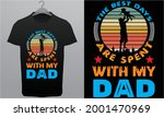 father's day t shirt. dad the... | Shutterstock .eps vector #2001470969