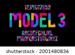 children colorful geometric... | Shutterstock .eps vector #2001480836