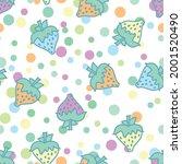 sweet summer vector repeat... | Shutterstock .eps vector #2001520490