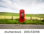 Traditional Red Telephone Box ...