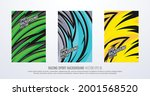 abstract geometric sports... | Shutterstock .eps vector #2001568520