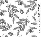 vector background with  ink... | Shutterstock .eps vector #200157080