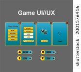 creative game ui ux design...