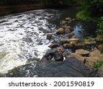 White Foamy River Water...