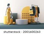 Clothes Mannequins A Hanger...