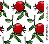 vector seamless pattern with... | Shutterstock .eps vector #2001632570