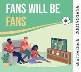 watch sports game social media...   Shutterstock .eps vector #2001901616