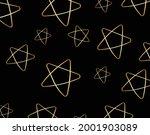 vector pattern hand drawn stars ...