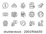 technology icons set. included... | Shutterstock .eps vector #2001906650