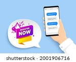 register now paper banner. hand ...