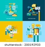 flat style ui icons to use for... | Shutterstock .eps vector #200192933