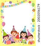 template is ready for... | Shutterstock .eps vector #2002056179