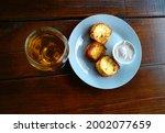 macro delicious adyghe cheese... | Shutterstock . vector #2002077659