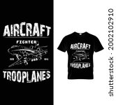 aircraft fighter pro trooplanes ...   Shutterstock .eps vector #2002102910