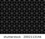 seamless seed of life symbol... | Shutterstock .eps vector #2002113146