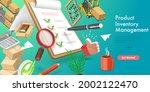 3d vector conceptual... | Shutterstock .eps vector #2002122470