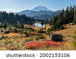 Fall In The Chinook Pass Area...