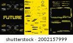 abstract digital technology ui  ...