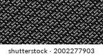 dark black geometric grid...   Shutterstock .eps vector #2002277903