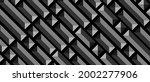 dark black geometric grid...   Shutterstock .eps vector #2002277906
