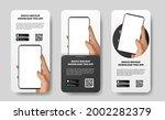 social media stories banner...   Shutterstock .eps vector #2002282379