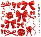 gift bows   Shutterstock . vector #200228720
