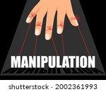manipulation control master....   Shutterstock .eps vector #2002361993