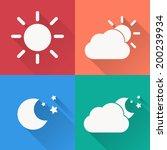 weather icon set    vector...