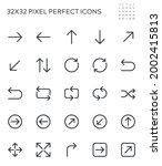 arrows  direction  orientation. ...