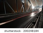 night traffic on a beautiful... | Shutterstock . vector #200248184