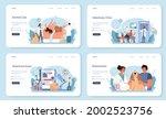 pet veterinarian web banner or... | Shutterstock .eps vector #2002523756