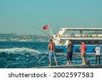 Istanbul Men Fishing At...