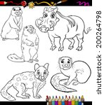 animal,application,black,book,cartoon,character,cheerful,children,coloring,comics,creature,cute,design,drawing,education