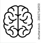 brain  genius fully editable...   Shutterstock .eps vector #2002716053